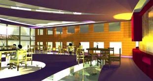 طرح 3 طراحی داخلی فضاهای فرهنگی