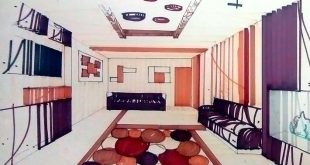 طرح 3 طراحی داخلی فضاهای فرهنگی 00528