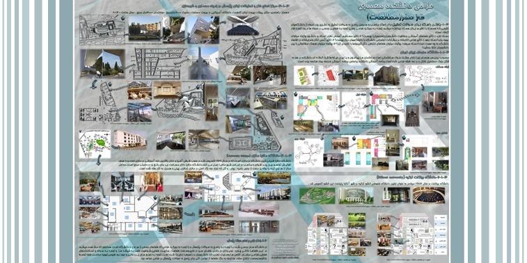 طالعات طرح 1 ارشد طراحی دانشکده معماری