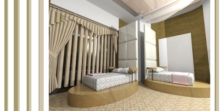 طرح نهایی پروژه طراحی داخلی هتل