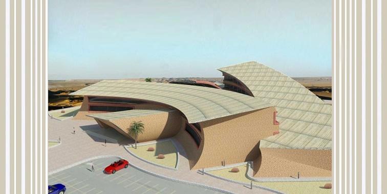 طرح نهایی پروژه هتل کویری