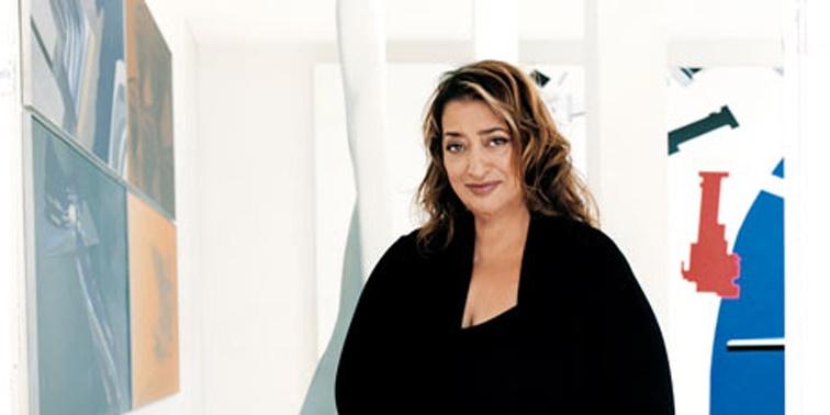 Zaha Hadid زها حدید تحلیل