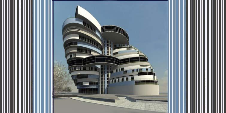 طرح معماری 5 پروژه مجتمع مسکونی 00149
