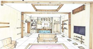 طرح 3 طراحی داخلی فضاهای فرهنگی 00523