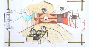 طرح 3 طراحی داخلی فضاهای فرهنگی 00525