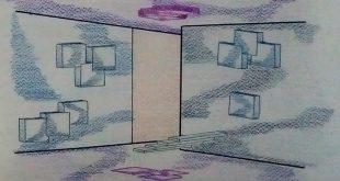 طرح 3 طراحی داخلی فضاهای فرهنگی 00527