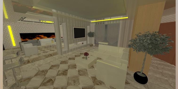 طرح 3 معماری پروژه طراحی داخلی 00569