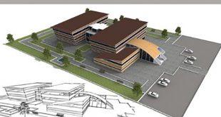 طرح معماری 4 پروژه بیمارستان 00623