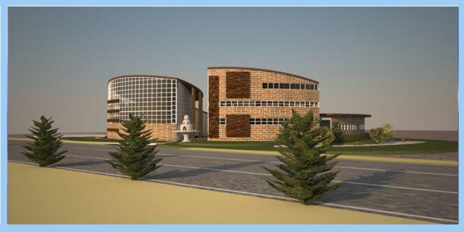 طرح معماری 4 پروژه بیمارستان 00625