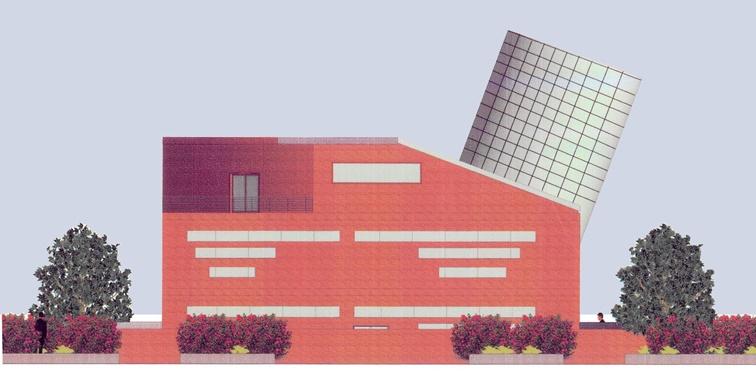 طرح معماری 2 پروژه طراحی پاساژ تجاری 00815