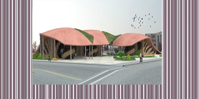 دانشکده معماری و هنر با رویکرد پایدار