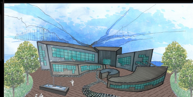 طرح معماری ارشد طراحی امفی تئاتر