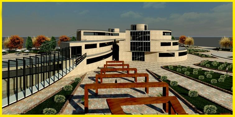 دانشکده معماری پروژه طراحی کتابخانه