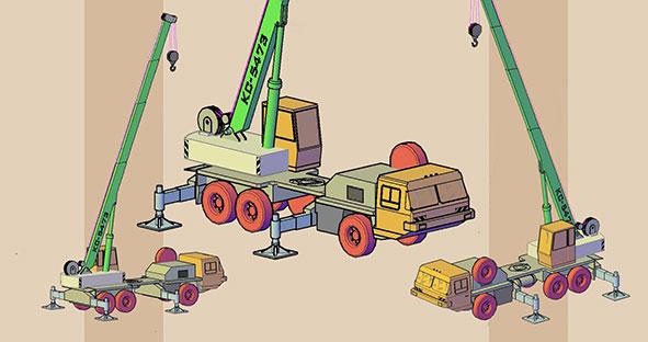 dwg انواع ماشین سنگین فایل AutoCAD