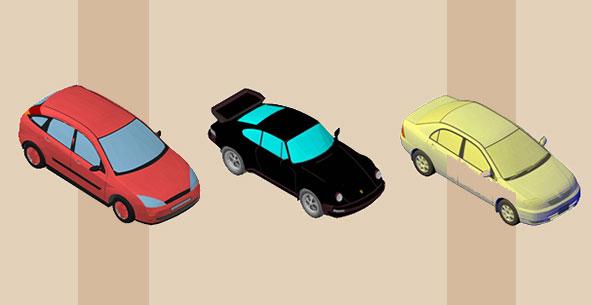 dwg انواع ماشین 3D فایل AutoCAD