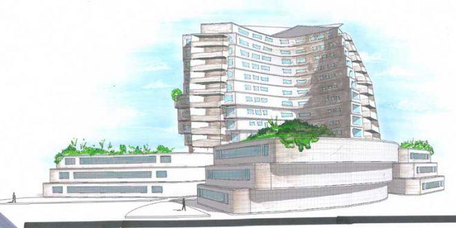 پروژه طرح معماری 5 مجتمع مسکونی 00134