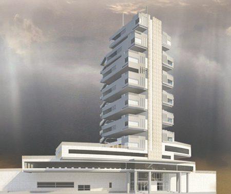 پروژه طرح معماری 5 مجتمع مسکونی 00133