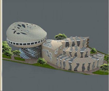 طرح معماری ارشد طراحی دانشکده هنر