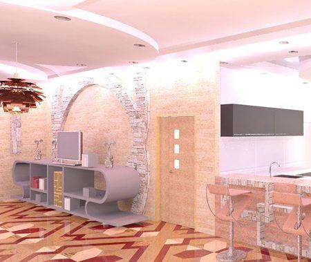 طرح معماری 3 طراحی داخلی مسکونی 00514