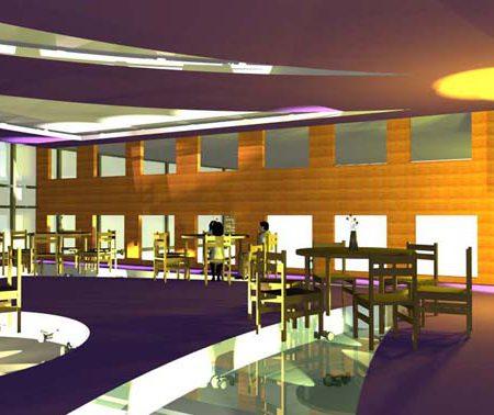 طرح 3 طراحی داخلی دانشکده موسیقی