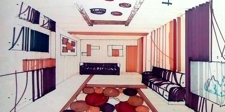 طرح 3 طراحی داخلی خانه سالمندان
