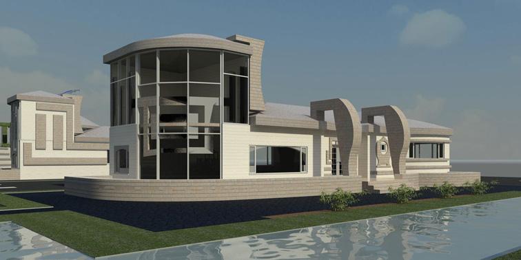پروژه طرح نهایی خانه های کم ارتفاع اکولوژیکی