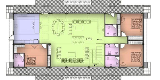 طرح 1 معماری، پروژه خانه معمار 00116