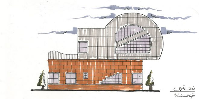 طرح 1 معماری، پروژه خانه معمار 00119