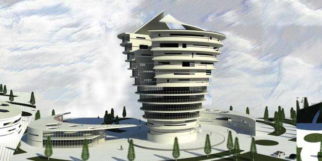 پروژه طرح معماری 5 مجتمع مسکونی 00135