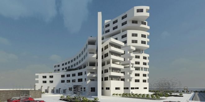 مجتمع مسکونی فضای باز و نیمه باز پروژه طرح نهایی