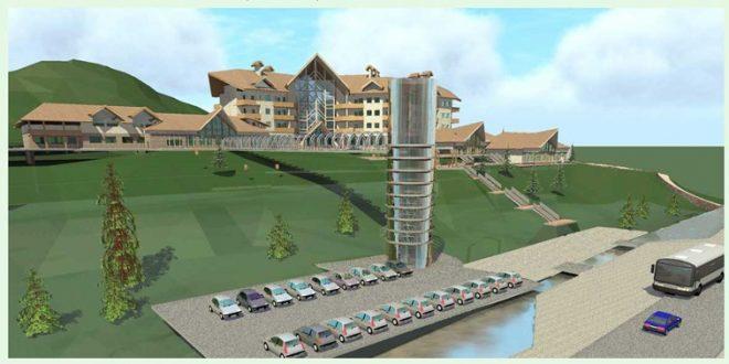 طرح نهایی پروژه هتل کوهستانی