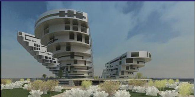 طرح معماری 5 پروژه مجتمع مسکونی 001413