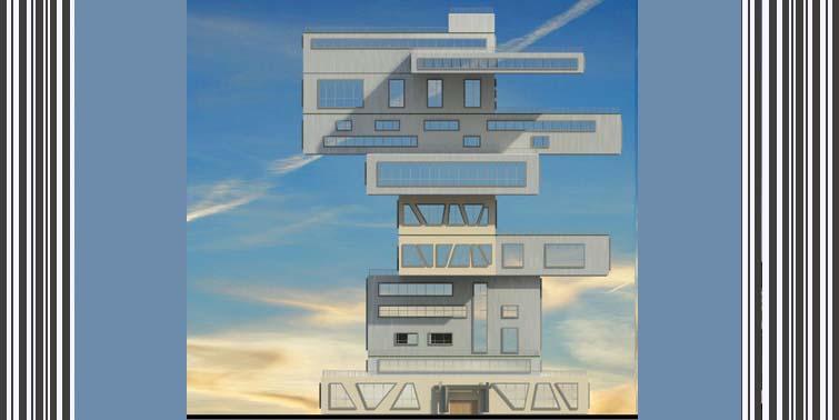 طرح معماری 5 پروژه مجتمع مسکونی 001414