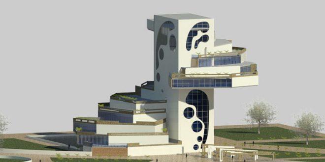 طرح معماری 5 پروژه مجتمع مسکونی