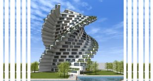 طرح معماری 5 پروژه مجتمع مسکونی 00146