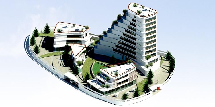 طرح 2 ارشد پروژه برج مسکونی 001514