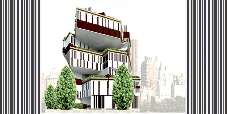 طرح 2 ارشد پروژه برج مسکونی 00154