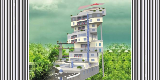 طرح 2 ارشد پروژه برج مسکونی 00156