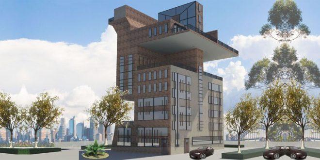 طرح 5 معماری پروژه مجتمع مسکونی 00165