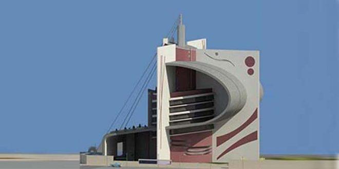 طرح 5 معماری پروژه مجتمع مسکونی 00166