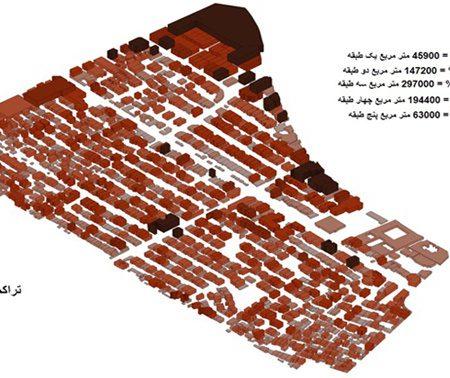 فضاهای شهری تحلیل منطقه 6 اصفهان