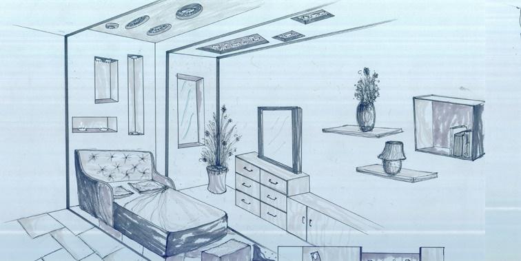 طرح معماری 3 طراحی داخلی مسکونی 005117