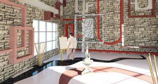 طرح معماری 3 طراحی داخلی مجتمع تجاری 00515