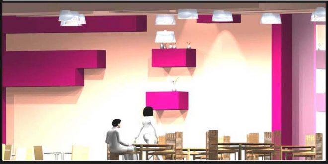 پروژه طرح 3 طراحی داخلی هتل