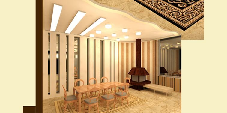 طرح 3 معماری پروژه طراحی داخلی 005611