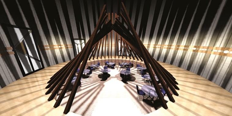 طرح ارشد معماری داخلی رستوران