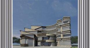 طرح معماری 4 پروژه بیمارستان 00622
