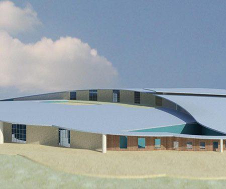 طرح معماری 4 پروژه بیمارستان 00628