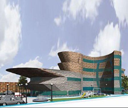 طرح معماری 4 پروژه بیمارستان 00629