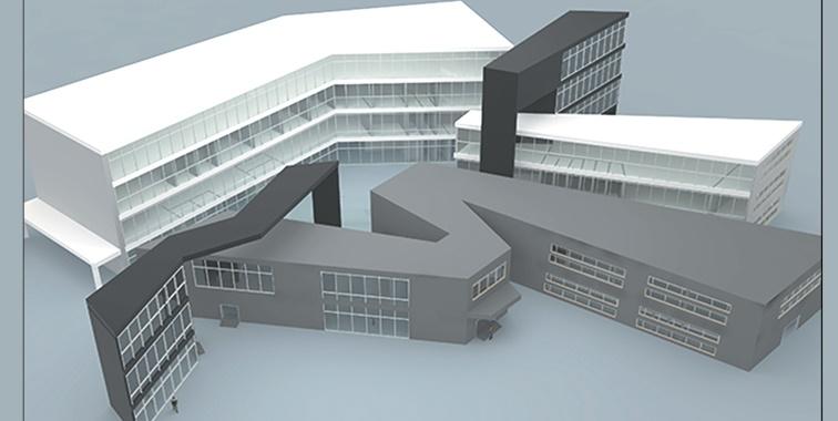 طرح معماری 4 پروژه طراحی بیمارستان 00634